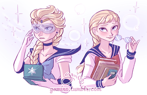 Sailor Elsa by Yamino