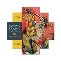Mama Pacha Wine Label by Cailey5586