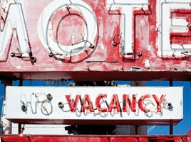 Fading Neon Motel Sign by TomFawls