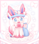 Fashion Sylveon by CaninePrince