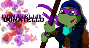 TMNT Teenage Donatello by DonatelloHawkx