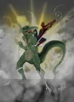 TheLizard Spiderman complete by MpaX38