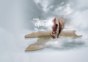 Keep your eyes on Africa by Real-ArtZ