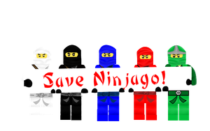 Save Ninjago!! by jazzlovessilkies