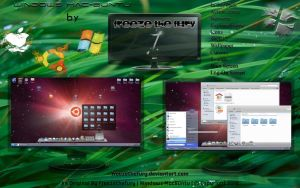 Windows Mac-Buntu by Freezethefury by FreezetheFury