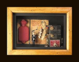 Mixed Media Assemblage 174 by GregPDX