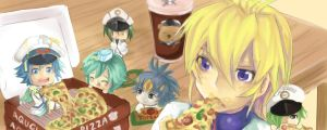 CFV : Pizza Party by AquaVision