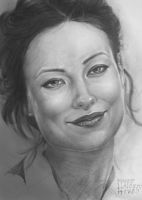 Olivia Wilde Pencil Portrait by wbmstr