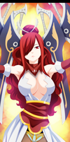 Fairy Tail -  Erza The Queen of Swords by strabixio