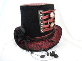 flower top hat Tall by Serata