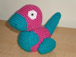 Porygon by Lass-Samantha
