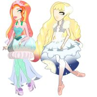 ever after high OC by pastelfactory