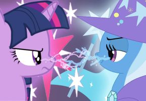 Twilight vs Trixie by bdiddy20128