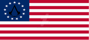 Assassin's Creed US Flag by k-h116