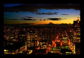 Night in Vancouver by TikiLlanes
