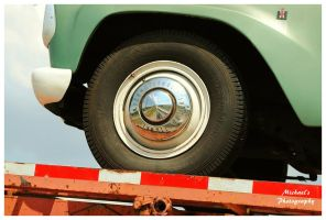 An International Pickup's Hubcap by TheMan268