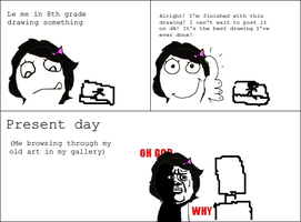 Rage Comic: Best Drawing Ever Done? by NinjaFalcon90
