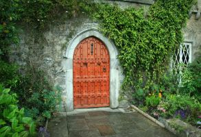Castle Door by Navanna