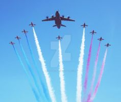 The Red Arrows by heather-may