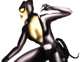 Catwoman - Color by raffabr94