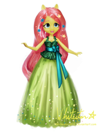 Doll Concept: Fluttershy by Whitestar1802