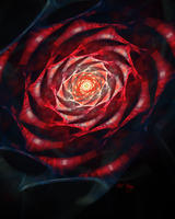 Paper Rose by myberg2