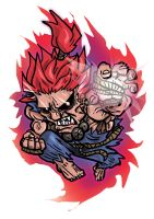 Akuma by blackfeathers