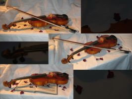 Romantic Violin by Hrivalasse-stock