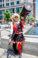 Animazement 2015: Harley Quinn Cosplay by naruto6393