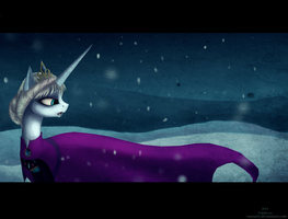 Let it go (Elsa pony) by Vongrell