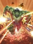 The Hulk in Action by kpetchock