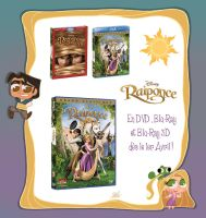Raiponce Disney Dvd by princekido