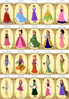Disney Daughters-with names by Haili73