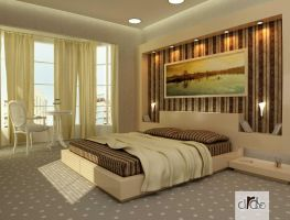 Master Bedroom by Dbouk