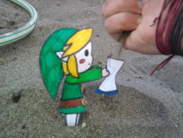 link and the sand by kirby-kta-tsuki