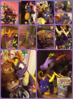 ( Spyro the Dragon ) Stuff Around my Room #1 by KrazyKari