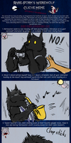 The Werewolf Cliche Meme by Pandadrake