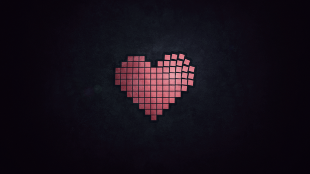 Heart Design Wallpaper by Rush4Art