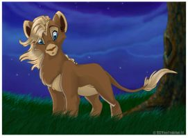 Tammy ze lion cub by espie