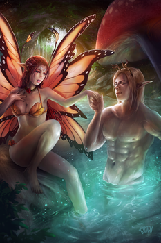 Commission: Neve and Avery by tjota