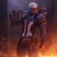 Overwatch Soldier 76 by free4fireYouTube