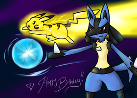 HBD- Together we'll make a promise~ by Eeveelutions95