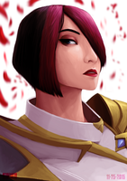 Your move - Fiora the Grand Duelist by kinwii