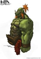 Orcish Thing by NuMioH