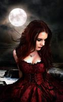 Dark Moon Princess II by EvangelineArtium by FueledbypartII