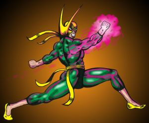 The Focus of Iron Fist by Dreamfires