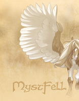 Mystfell Pegasus Poster by Blackpassion777