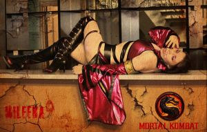 Mileena Alternative MK9 by TashaTremer
