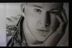 Channing Tatum drawing by Niiina97