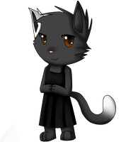 Chibi Kat by silvazelover2